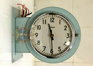 Antique Original Nautical Ship Maritime Curi Vintage Citizen Wall Clock