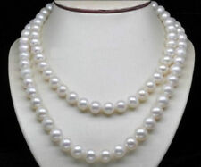 """genuine 8-9mm white Fresh water pearl necklace 35"""""""