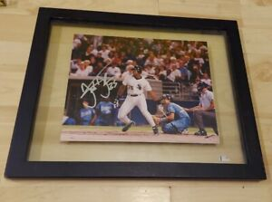 Frank thomas Chicago White Sox Framed Autographed 8x10 Photo
