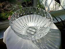 """High Quality Clear Crystal Fruit Bowl 9"""" Wide"""