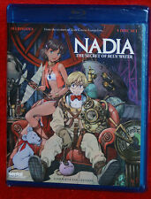 Nadia Secret of Blue Water Complete Collection Blu-ray NEW 5 DISC ANIME LOT