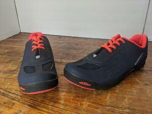 Louis Garneau - Women's Multi Air Flex Bike Shoes - sz 11 Urban Dark Night Coral
