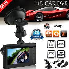"2.7"" HD 1080P Car Vehicle Dash Camera DVR IR Cam Night Vision Recorder G-sensor"