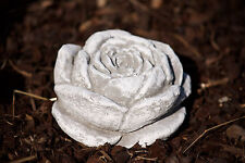 Stone Flower Frost Resistant Garden Decoration Casting Sculpture Rose Blossom