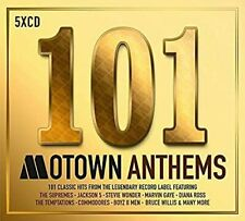 101 Motown Anthems [Audio CD] Various Artists New & Sealed