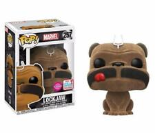 Inhumans - Lockjaw Flocked NYCC 2017 US Exclusive Pop! Vinyl