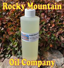 Sweet Almond Oil Organic Carrier Cold Pressed Refined 100 Pure 32 Oz