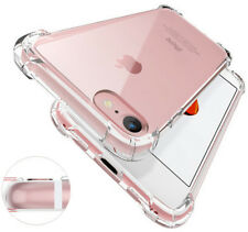 Shockproof Tough Gel Clear Case Cover for Apple iPhone 5 5s SE 6 6s 7 8 Plus X