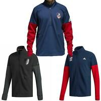 adidas USA VB Mens Jacket~Zip Up~Warm Up~Track Top~RRP $45 Sale Price~All Sizes