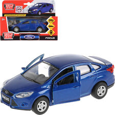 Ford Focus Sedan Blue Diecast Metal Model Car 1:36 Scale