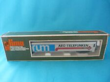 Train LIMA - Long wagon de marchandise à bogies FORUM AEG TELEFUNCKEN