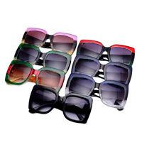 NEW Oversized Square Luxury Sunglasses Gradient Lens Vintage Women Fashion