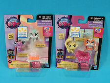 2x Littlest Pet Shop Pets in the City Walmart Exclusive 2-Packs 4 Total Figures