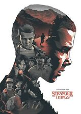 Stranger Things Alternative TV Poster Art by Amien Juugo No. /50 NT Mondo
