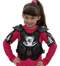 Wulfsport Kids MX Motorcross Cadet Tabard Stone Deflector Protector 3-8yrs Black