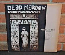 DEAD MEADOW - Peel Sessions, Limited BLACK/WHITE SWIRL VINYL LP New & Sealed!