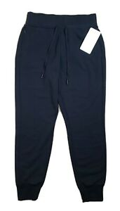 Lululemon Cool and Collected Jogger NWT Size 8 Black High Rise 7/8 Sweat Pants