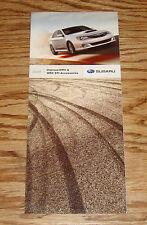2009 Subaru Impreza WRX & WRX STI Accessories Foldout Sales Brochure 09