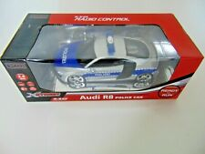 Beluga RC XStreet Audi R8 Police Car  Polizei 1:18 Ferngesteuert Auto 11814