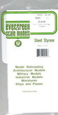 """Evergreen Scale Models 9010 .010"""" x 6"""" x 12"""" Polystyrene Sheets (Pack of 4)"""