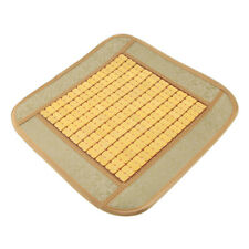 Wooden Bamboo Car Seat Home Office Chair Cover Pad Cool Cushion Mat Beige