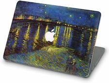 Starry Night Macbook Case Air Pro 13 15 16 Hard Shell Van Gogh Fine Art Design