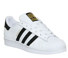 *NEW - ADIDAS ORIGINALS SUPERSTAR MEN'S SHOES (C77124) - WHITE/BLACK - ALL SIZES