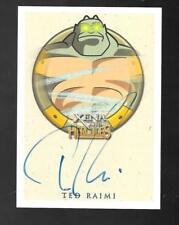 Xena & Hercules Animated autograph card Ted Raimi - Crius