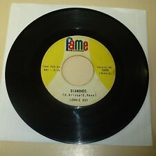 WHITE SOUL 45 RPM RECORD - LONNIE RAY (PSEUD FOR  DAN PENN) - FAME 6409