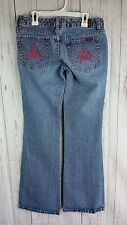 Seven For All Mankind Womans  A pocket Medium Wash Jean Sz 26  x 32
