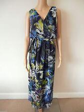 Polyester V Neck Maxi Dresses NEXT