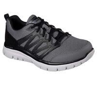 Skechers shoes Men Comfort Casual Soft Mesh Train Sporty Memory Foam 58353 Gray