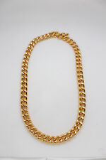Thick Chunky Links Strong Heavy Jewelry Men Gold Metal Chain Necklace Fashion