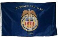 3x5 Merchant Marine Marines Premium Quality Flag 3'x5' Banner Grommets