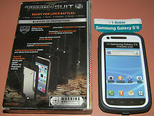Body Glove ToughSuit case Samsung Galaxy S II, T-Mobile only, Gray/White