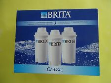 New Brit a Water Filters 3- Pack Individual Cartridge White                 #50S