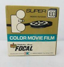 Focal Super 8 Color Movie Film Exp1977,