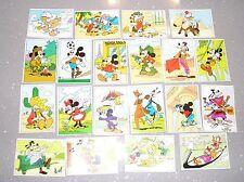 PANINI Lot 20 images Disney Les aventures de Mickey chez ton boulanger patissier