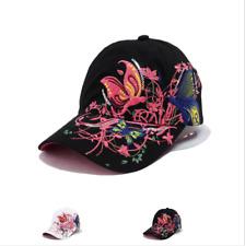 AKIZON Fashion Baseball Cap Hats For Women Snapback Butterflies Flowers FemaLe #
