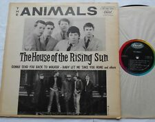 THE ANIMALS The house of the rising (4:00) MONO CANADA CAPITOL 1964 1st Press LP