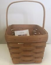 Longaberger New Old Stock Spring Basket Wb - 2002 (Contains 2 Baskets)