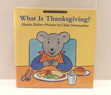 A Lift-the-Flap Book.: What Is Thanksgiving? by Harriet Ziefert 1992, Paperback