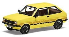 Corgi VA12509 - 1/43 FORD FIESTA MK1 'FESTIVAL' PRAIRIE YELLOW DIECAST MODEL CAR
