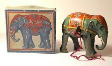RARE Vintage Windup Tin Toy Jumbo w/box 1930 US Zone Germany