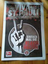 Programm FC St.Pauli - SpVgg Greuther Fürth 14/15