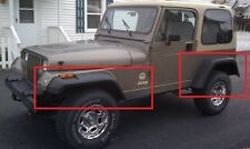 """JEEP WRANGLER YJ WHEEL ARCH - FENDER FLARES EXTENSIONS NEW 18cm / 7"""" 4 pcs"""
