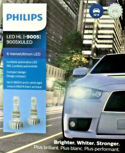 9005XULED Philips X-tremeUltinon LED 2pk 9005 Headlights 160% Brighter 9005XUX2