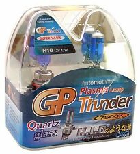 GP Thunder™ 7500K H10 9145 PY20D Xenon Quartz White Light Bulbs for Fog DRL