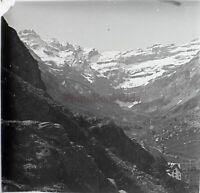 Circo De Gavarnie Pirineos Francia Foto Estéreo PL59L5n44 Placa Cristal