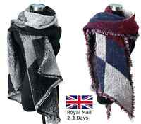 Lady Scotland Tartan Plaid Checked Pashmina Scarf Wrap Shawl Warm Neck Fashion